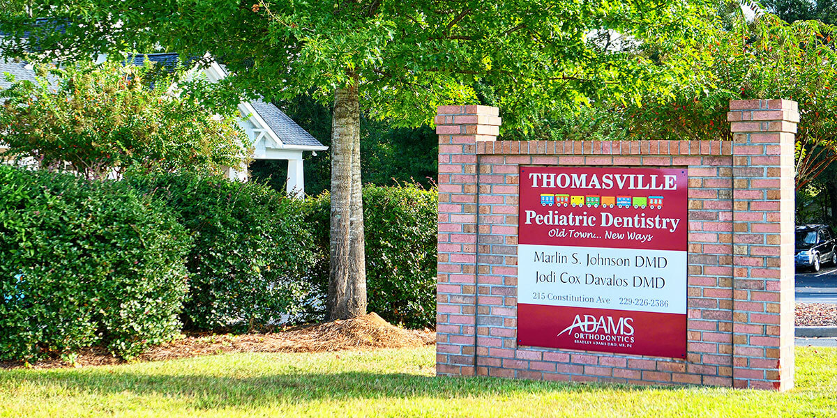 Contact Thomasville Pediatric Dentistry